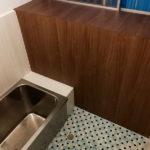 浴室パネル施工後